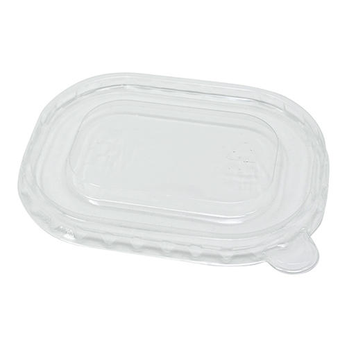Clear RPET Anti-mist Lid for 150 & 250ml Kraft Bowl Stagione Microwavable Freezable - Pack 500