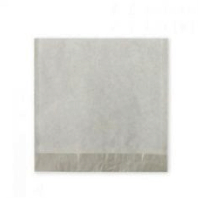 """Large 10"""" White Strung Compostable Paper Bags - Pack 1,000"""
