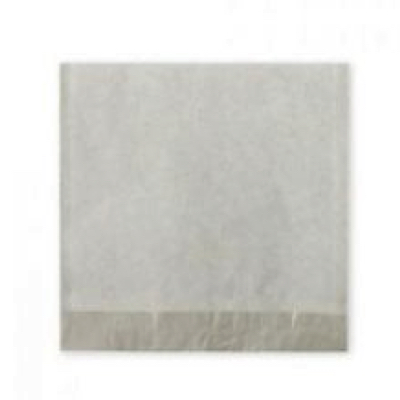 """Large 12"""" White Strung Compostable Paper Bags - Pack 500"""